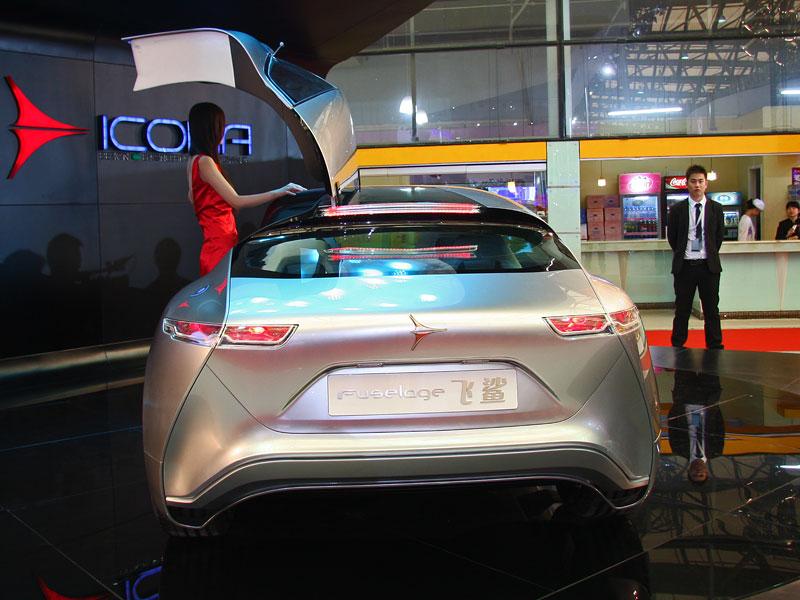 Icona Design Fuselage: atraktivní granturismo... z Číny!: - fotka 13