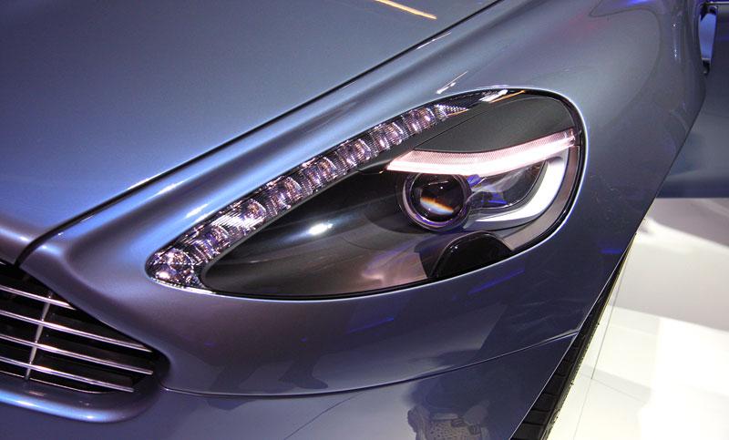 Frankfurt 2009 živě: Aston Martin Rapide - první dojmy: - fotka 15