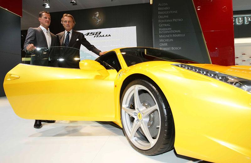 Frankfurt 2009 živě: Ferrari 458 Italia – první dojmy: - fotka 17