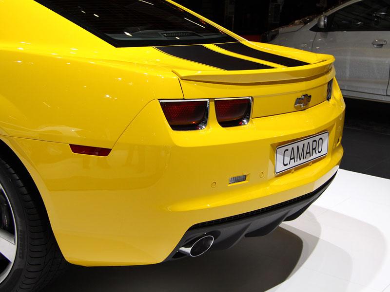 Ženeva 2010 živě: Chevrolet Camaro: - fotka 13