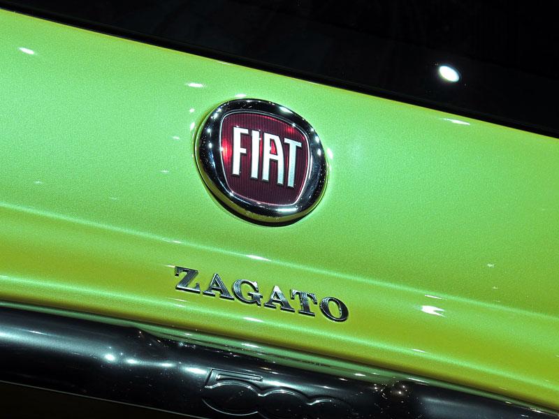 Ženeva 2011 živě: Fiat 500 Coupé Zagato: - fotka 10