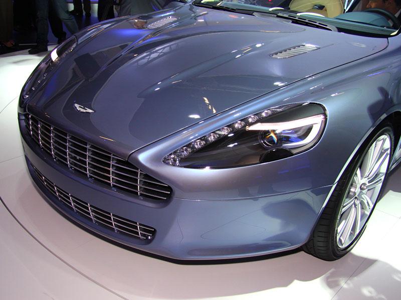 Frankfurt 2009: Aston Martin Rapide: - fotka 16