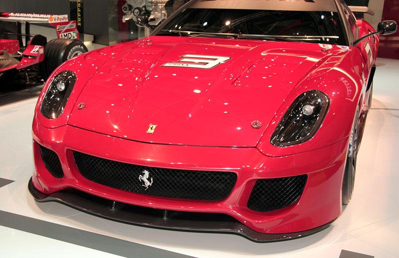 Ferrari 599XX: Massa za volantem (+video): - fotka 19