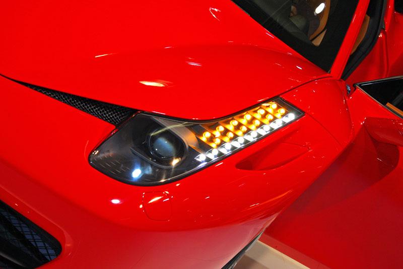 Frankfurt 2009 živě: Ferrari 458 Italia – první dojmy: - fotka 18