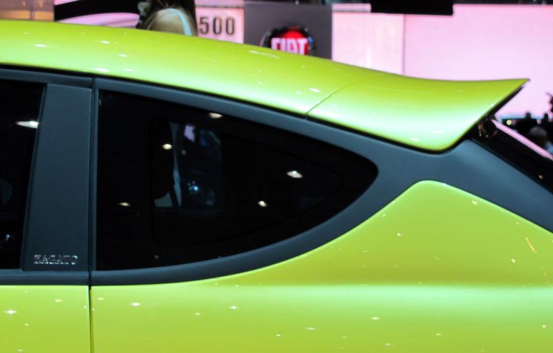 Ženeva 2011 živě: Fiat 500 Coupé Zagato: - fotka 11