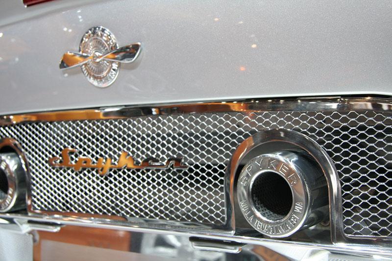 Autosalon Ženeva: Spyker C8 Aileron: - fotka 12