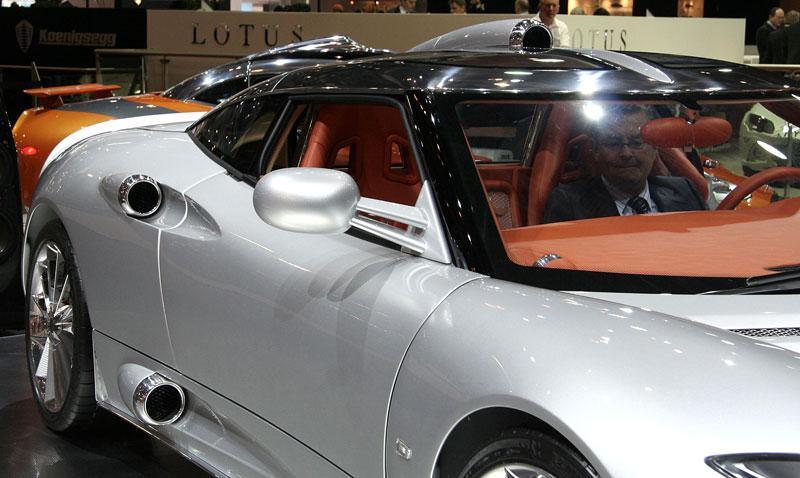 Autosalon Ženeva: Spyker C8 Aileron: - fotka 13