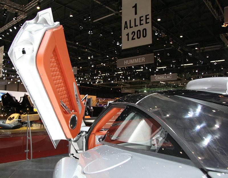 Autosalon Ženeva: Spyker C8 Aileron: - fotka 14