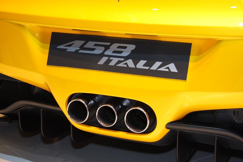 Frankfurt 2009 živě: Ferrari 458 Italia – první dojmy: - fotka 24