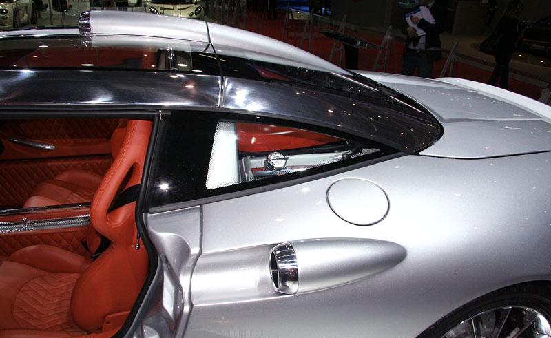 Autosalon Ženeva: Spyker C8 Aileron: - fotka 16