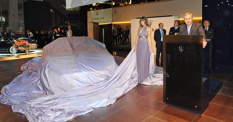 Frankfurt 2009: Maserati GranCabrio: - fotka 8