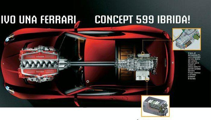Ferrari představí v Ženevě koncept hybridního 599 GTB!: - fotka 1