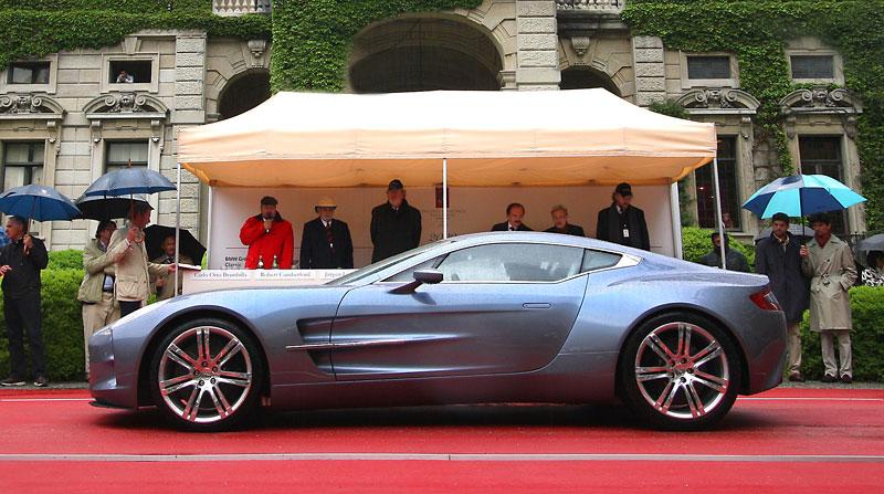 Aston Martin One-77 na výstavě ve Villa d'Este - nové fotografie: - fotka 10