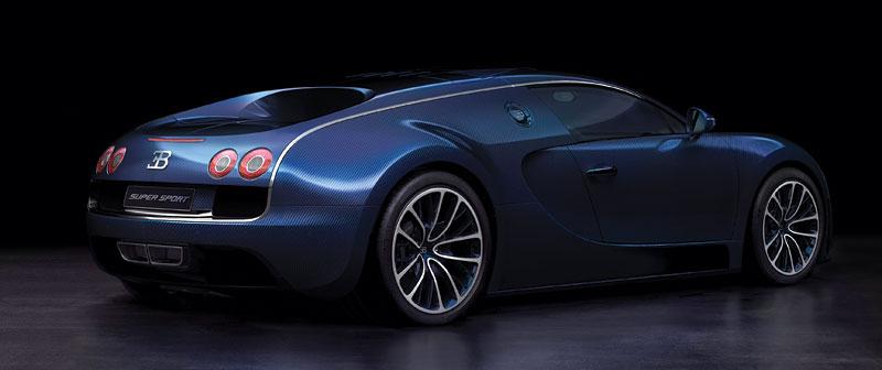 Bugatti Veyron Super Sport: první foto produkční verze: - fotka 4