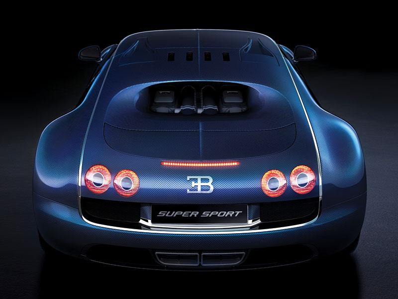 Bugatti Veyron Super Sport: první foto produkční verze: - fotka 6