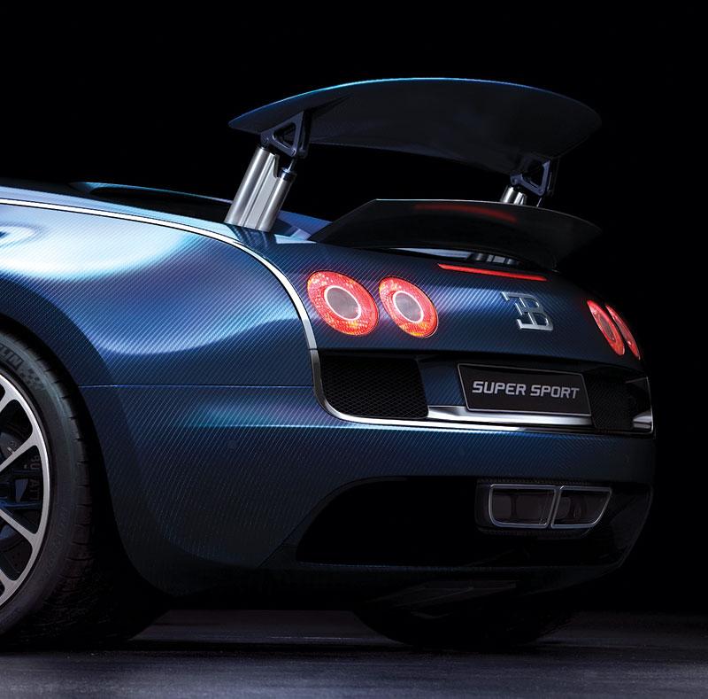 Bugatti Veyron Super Sport: první foto produkční verze: - fotka 8