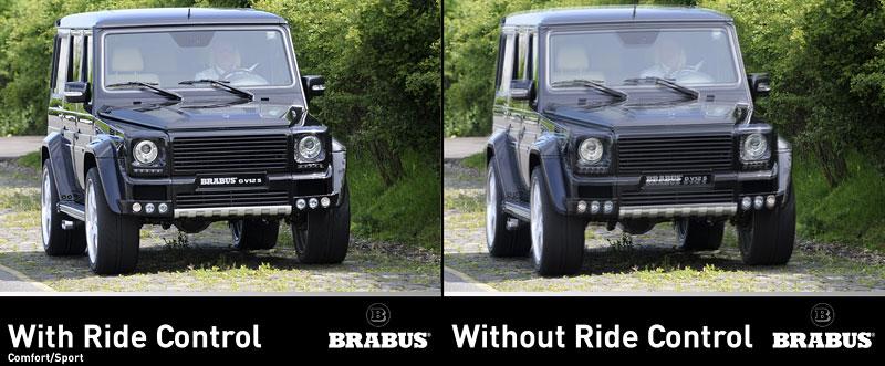 Brabus: Mercedes G nikdy nejezdil klidněji: - fotka 3