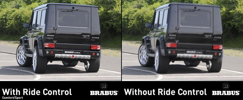 Brabus: Mercedes G nikdy nejezdil klidněji: - fotka 4