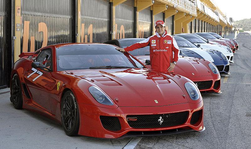 Ferrari 599XX: Massa za volantem (+video): - fotka 5