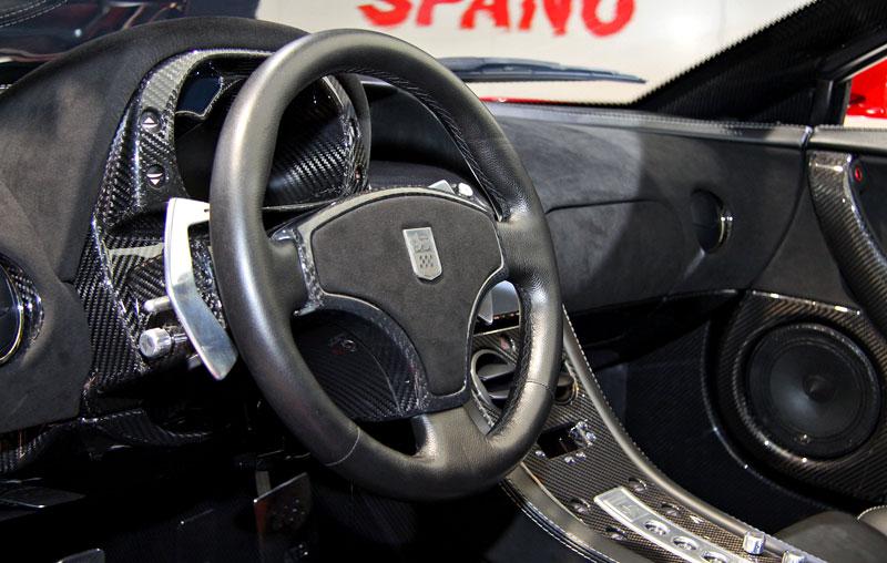 GTA Spano: 820 koní pro nový španělský supersport: - fotka 2