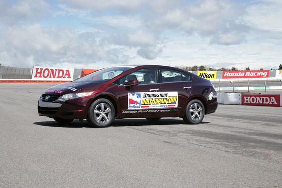 Honda FCX Clarity - S vodíkovým autem na závodní okruh: - fotka 1