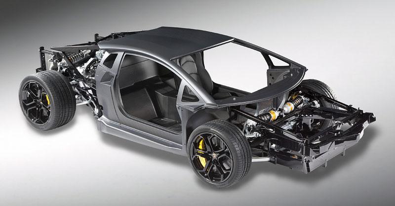 Lamborghini Aventador: unikla první fotografie!: - fotka 4