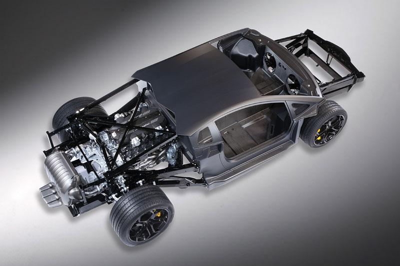 Lamborghini Aventador: unikla první fotografie!: - fotka 5