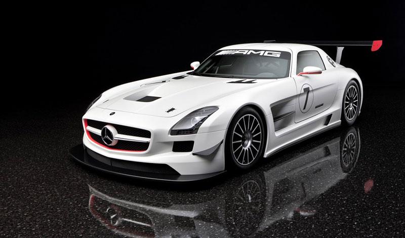 Mercedes-Benz SLS AMG GT3: speciál už zná svou cenu: - fotka 8