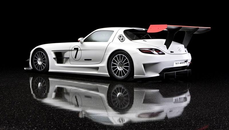 Mercedes-Benz SLS AMG GT3: speciál už zná svou cenu: - fotka 13