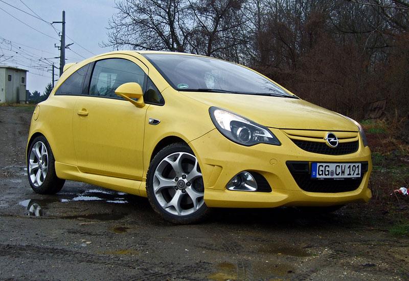 Za volantem: Opel Corsa OPC 2012: - fotka 10