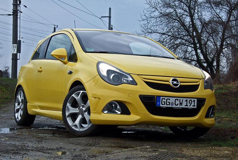Za volantem: Opel Corsa OPC 2012: - fotka 11