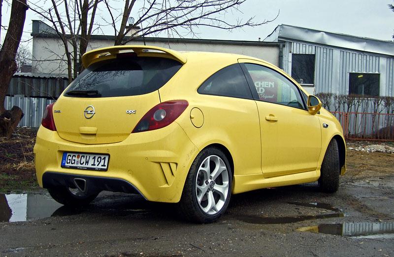 Za volantem: Opel Corsa OPC 2012: - fotka 13
