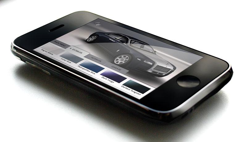 Rolls-Royce Ghost: konfigurátor pro iPhone a iPod Touch: - fotka 1
