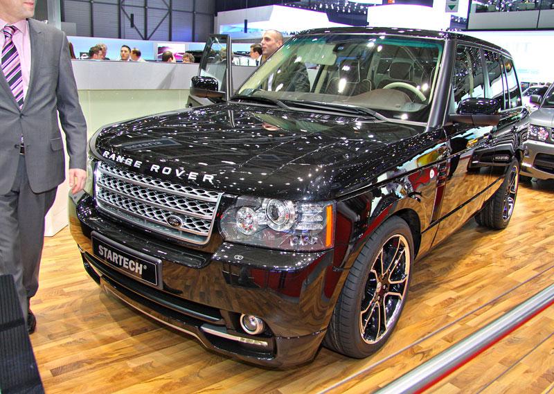 Range Rover Supercharged: atraktivnější vzhled od Startech: - fotka 1