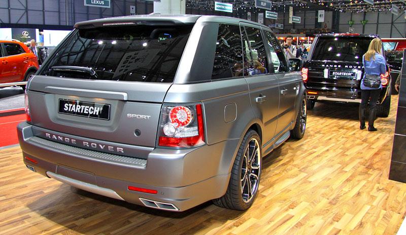 Range Rover Supercharged: atraktivnější vzhled od Startech: - fotka 2