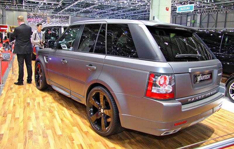 Range Rover Supercharged: atraktivnější vzhled od Startech: - fotka 3
