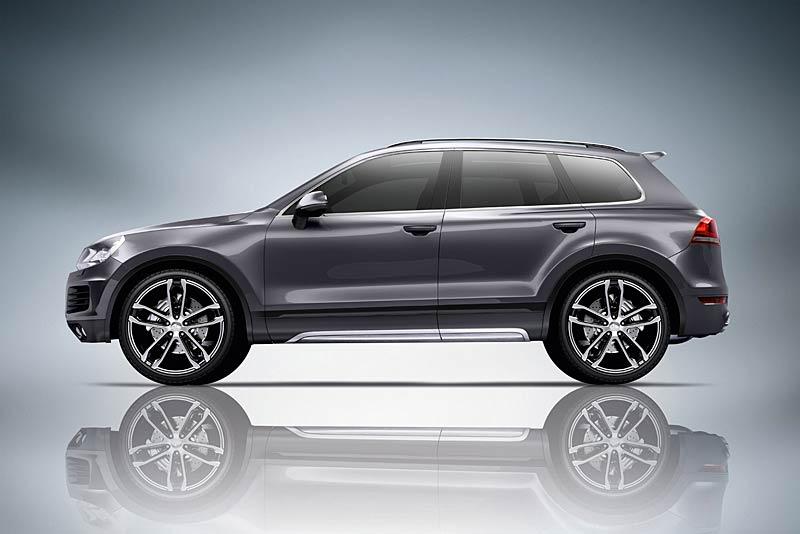 Volkswagen Touareg: decentka od ABT: - fotka 2
