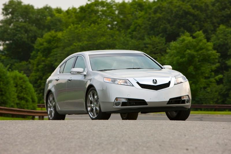 Acura TL - sportovní sedan jako břitva: - fotka 11
