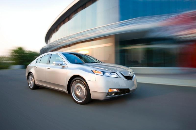 Acura TL - sportovní sedan jako břitva: - fotka 12