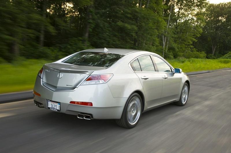 Acura TL - sportovní sedan jako břitva: - fotka 18