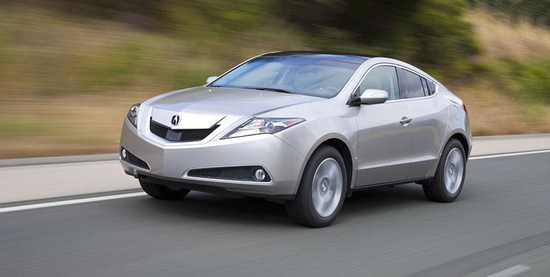 Acura ZDX: další SUV kupé připraveno vyrazit: - fotka 24