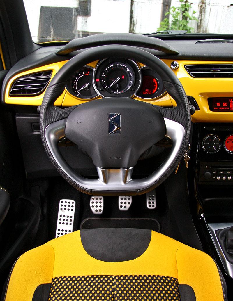 Test: Citroën DS3 1.6 THP: Říkejte mi Seb: - fotka 6