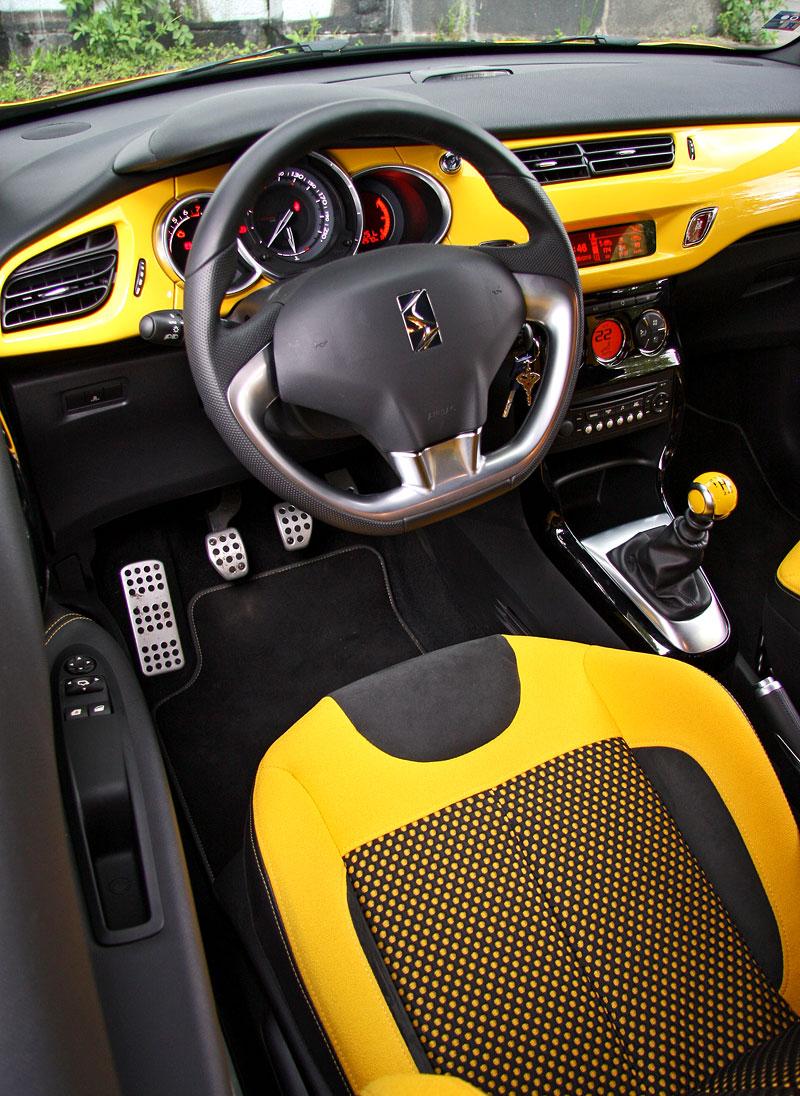 Test: Citroën DS3 1.6 THP: Říkejte mi Seb: - fotka 7