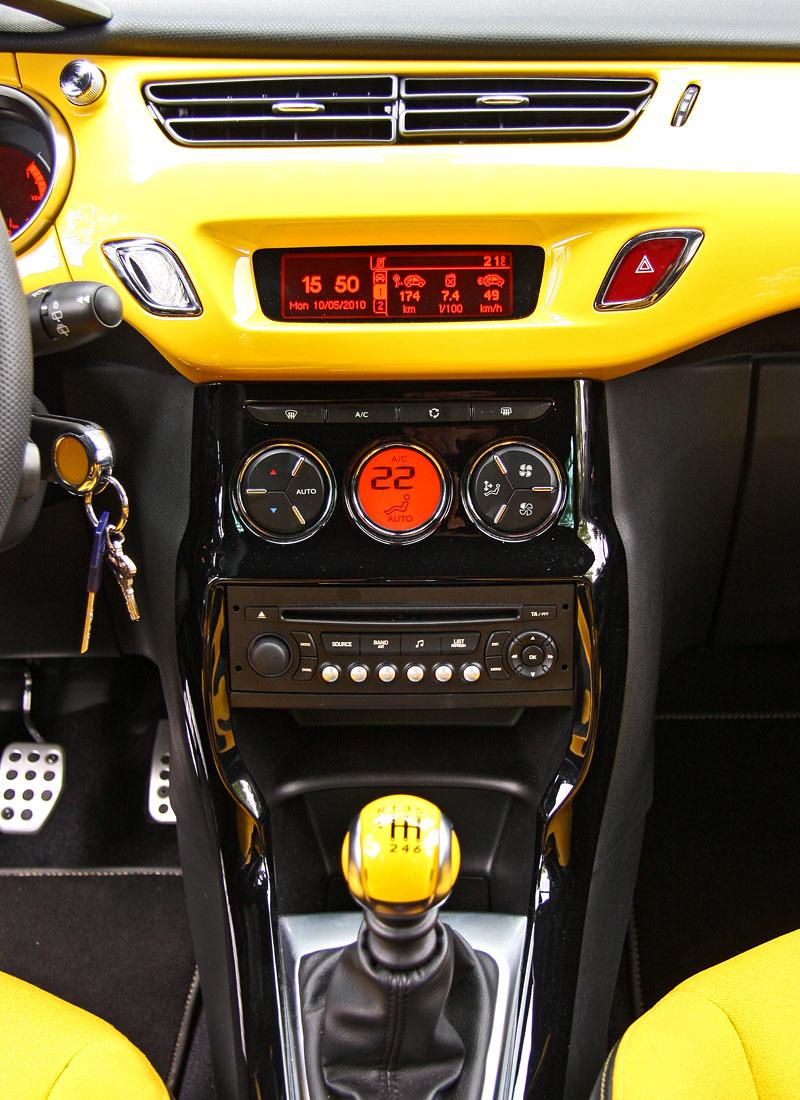 Test: Citroën DS3 1.6 THP: Říkejte mi Seb: - fotka 9