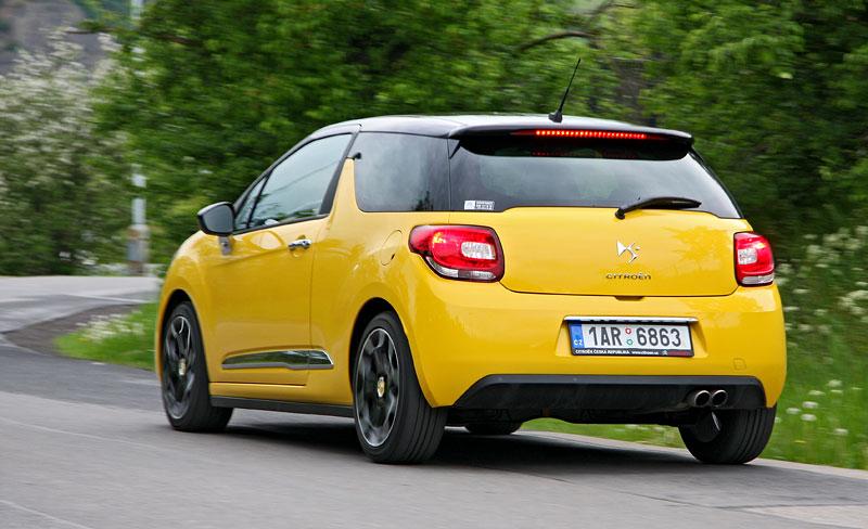 Test: Citroën DS3 1.6 THP: Říkejte mi Seb: - fotka 38