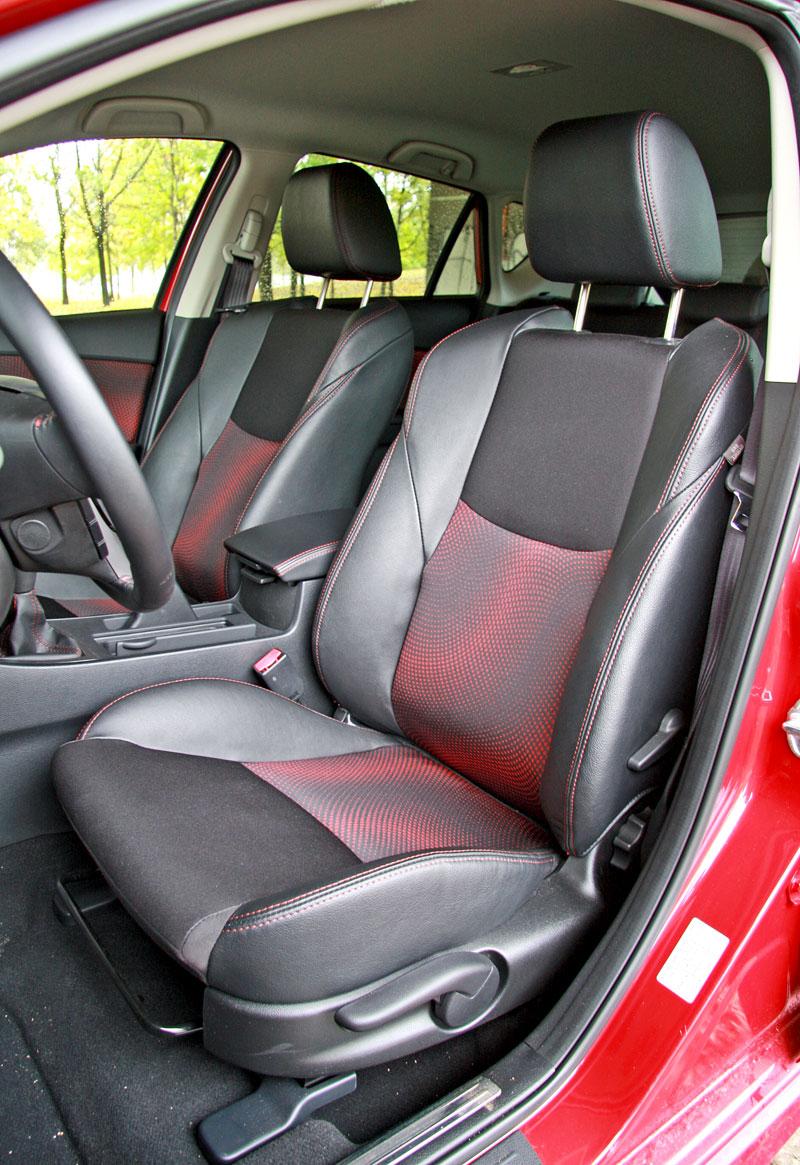 Test:  Mazda 3 MPS - Milujte Privátní Sport: - fotka 10