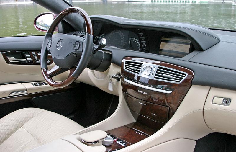 Mercedes-Benz CL 500 4Matic: staré dobré časy: - fotka 1