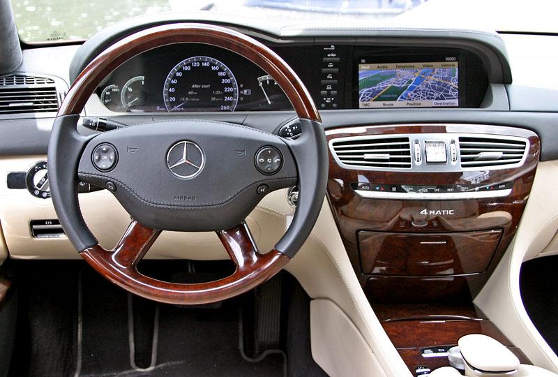 Mercedes-Benz CL 500 4Matic: staré dobré časy: - fotka 2