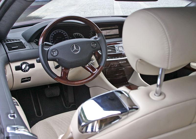 Mercedes-Benz CL 500 4Matic: staré dobré časy: - fotka 3