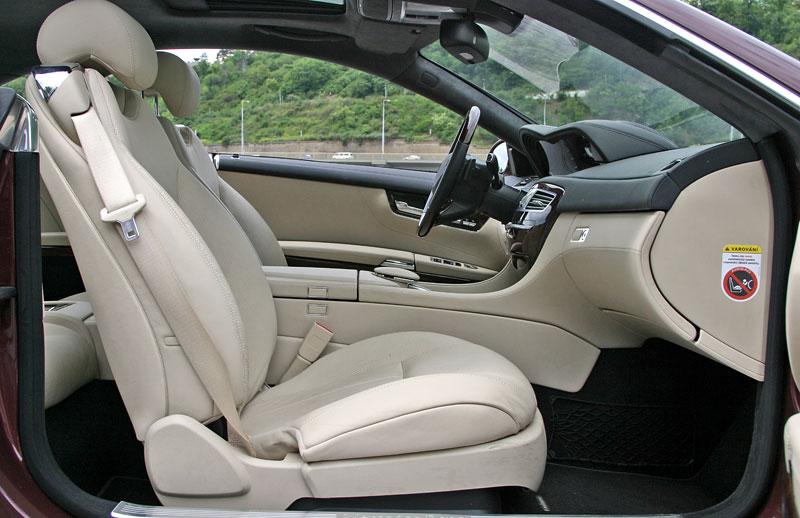 Mercedes-Benz CL 500 4Matic: staré dobré časy: - fotka 4